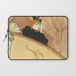 "Henri de Toulouse-Lautrec ""La loge au mascaron doré (Box with the Gilded Mask)"" Laptop Sleeve"