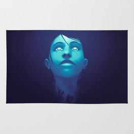 Luminescent Sapphire Rug