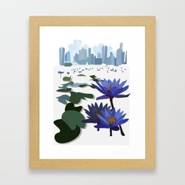 City Bay Framed Art Print