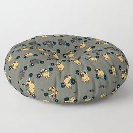 OLYMPIC LIFTING PUG Floor Pillow