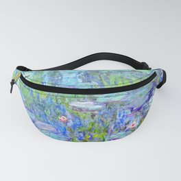 Water Lilies monet : Nympheas Fanny Pack