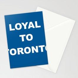 Loyal to Toronto Stationery Cards