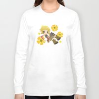 dragon age Long Sleeve T-shirts featuring Dragon Age - Buttercup Sera by Choco-Minto