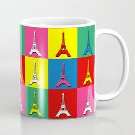 Pop art Paris Coffee Mug