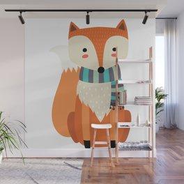 Friendly Fox Wall Mural