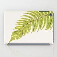sword iPad Cases featuring Sword Fern by Paul Edmondson