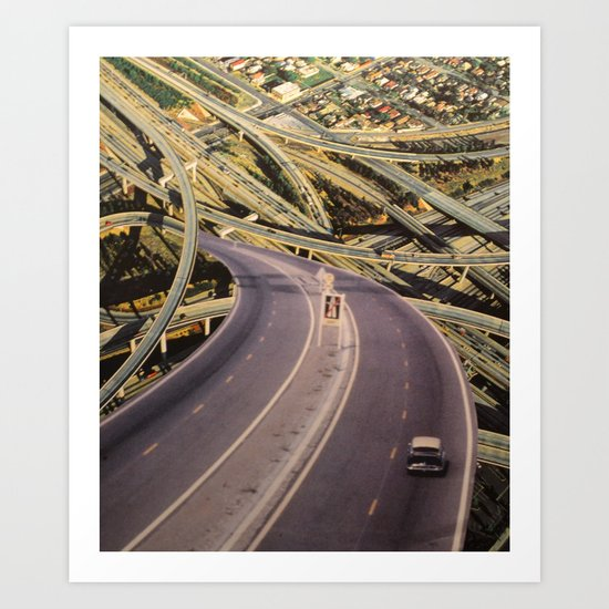 Highway Art Print