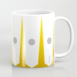 Mid Century Muse: Moonliner in Mustard Coffee Mug