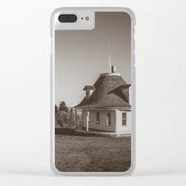 Hurd Round House, Wells County, North Dakota 23 Clear iPhone Case