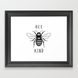 Bee Kind Framed Art Print
