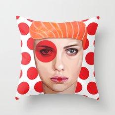 Scarlett Johansson Throw Pillow