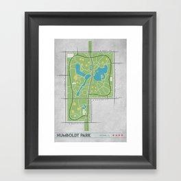 Parks of Chicago: Humboldt Park Framed Art Print