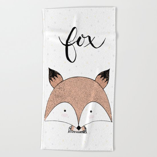 FOX Beach Towel