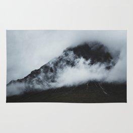 Peak hidden in the clouds Rug
