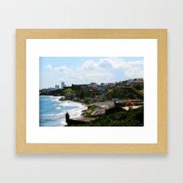 Colors of Old San Juan Framed Art Print