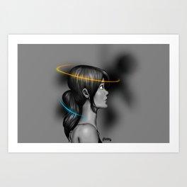 Think With Portals Art Print