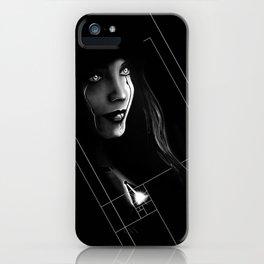 Cyborg Beauty iPhone Case