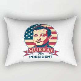 Murray For President Rectangular Pillow
