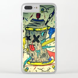 Is Art Dead Clear iPhone Case