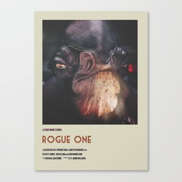 Rogue One Retro Poster IV Canvas Print