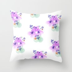 Wallflowers Throw Pillow
