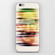 Troubled Face iPhone & iPod Skin