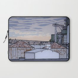 The Mill at Sunset Laptop Sleeve