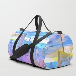 Manhattan Pop Art Duffle Bag