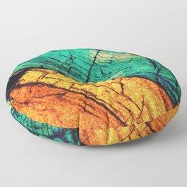 Epidote and Quartz Floor Pillow