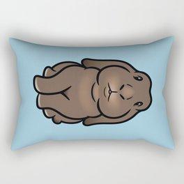 Coco the Minilop Bunny Rectangular Pillow
