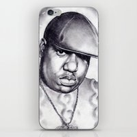 notorious iPhone & iPod Skins featuring Notorious by DaeSyne Artworks