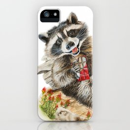 Chocolate Bandit iPhone Case