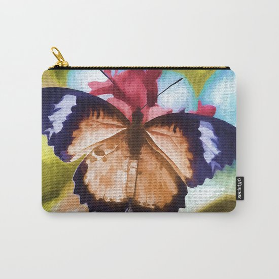 Flying Flower Carry-All Pouch