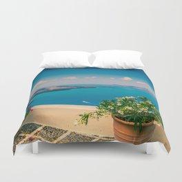 Santorini i Duvet Cover