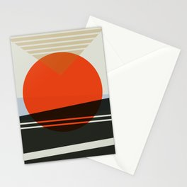 Abstract Composition 606 Stationery Cards