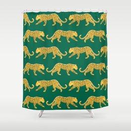 The New Animal Print - Emerald Shower Curtain