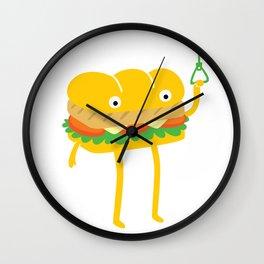 Foot Long Wall Clock