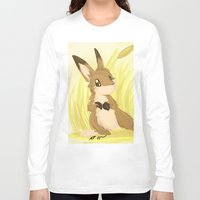 hare Long Sleeve T-shirts featuring Autumn Hare by IowaShots