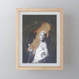 Nina Simone Framed Mini Art Print