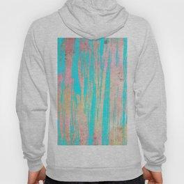 Modern pink watercolor turquoise artistic brushstrokes Hoody
