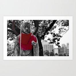 Guardian of the city Art Print