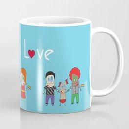 Love is Love Blue - We Are All Equal Coffee Mug