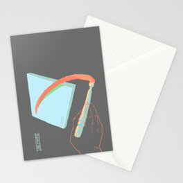 Painter's Hand Stationery Cards
