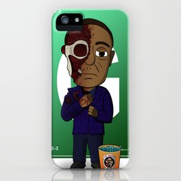May His Death Satisfy You iPhone Case