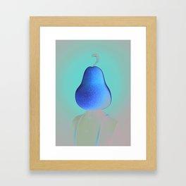Peartrait Framed Art Print