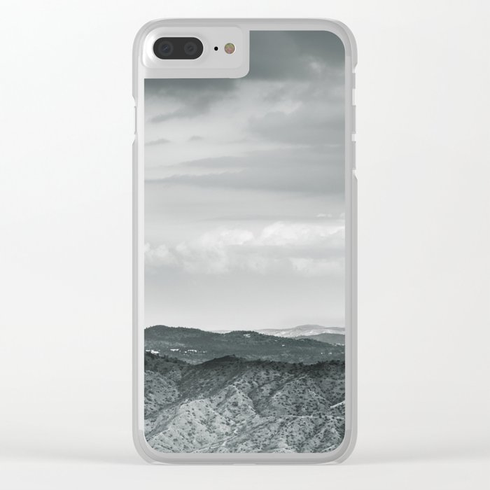 The Mountains are Calling Clear iPhone Case