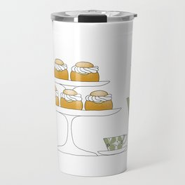 Fika with Semlor Travel Mug