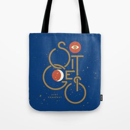 """So It Goes"" — Kurt Vonnegut Tote Bag"
