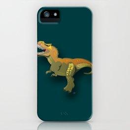 Dinosaur - 'A Fantastic Journey' iPhone Case