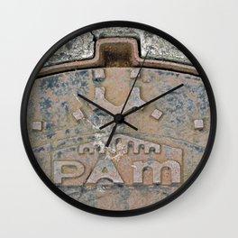 Pam I Am Wall Clock